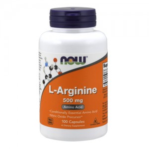 Now Foods Arginine 500 mg цена