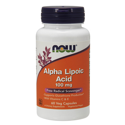 Now Foods Alpha Lipoic Acid 100 mg
