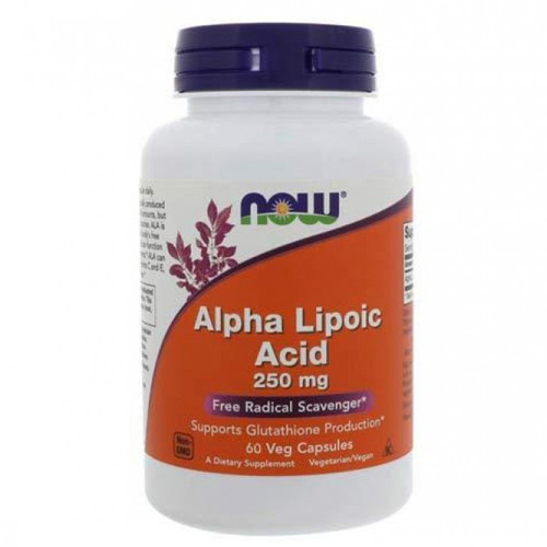 Now Foods Alpha Lipoic Acid 250 mg