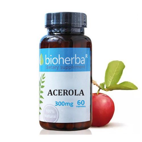 Ацерола 300 мг 60 капс Биохерба