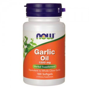Now Foods Garlic Oil 1500 mg