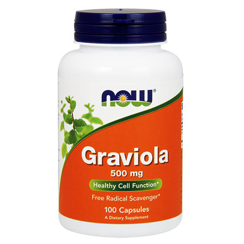 Now Foods Graviola 500 mg