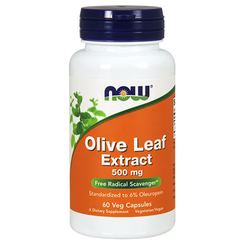 Now Foods Olive Leaf Extract 500 mg