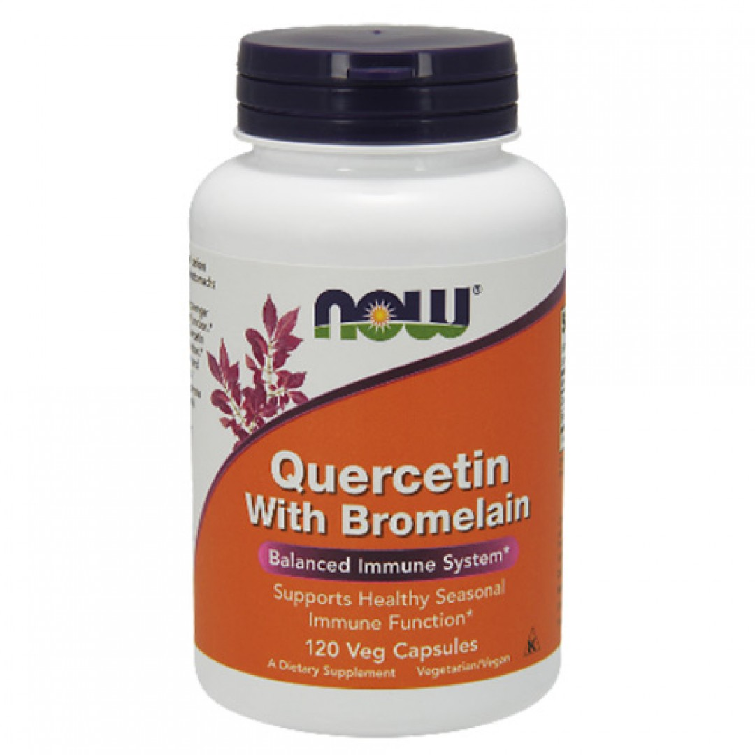 Now Foods Quercetin with Bromelain цена