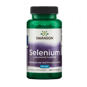 Swanson Selenium 200 табл. L-Selenomethionine 100 mcg цена