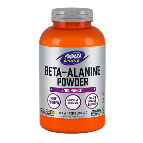 Now Foods Beta Alanine 500 g