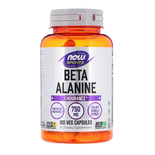 Now Foods Beta Alanine 750 mg 120 capsules