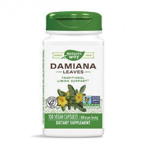 Nature's Way Damiana Leaves 400 mg 100 Caps