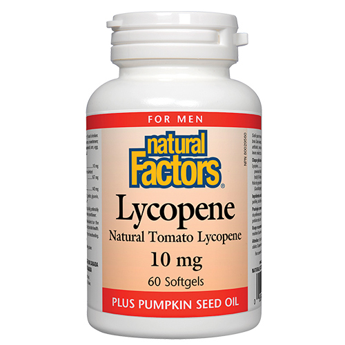 Natural Factors Lycopene 10 mg 60 Caps