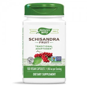 Nature's Way Schisandra Fruit 580 mg 100 Caps