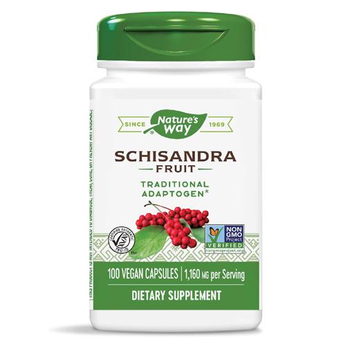 Nature's Way Schisandra Fruit 580 mg 100 Caps