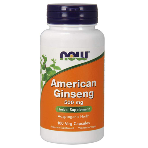 Now Foods American Ginseng 500 mg