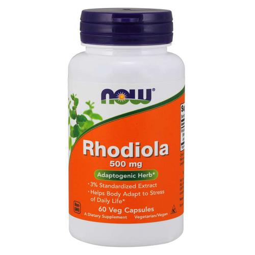 Now Foods Rhodiola (Златен корен) 500 mg 60 Caps