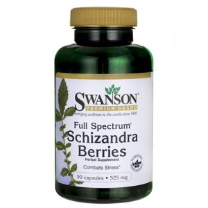 Swanson Full Spectrum Schizandra Berries 525 mg