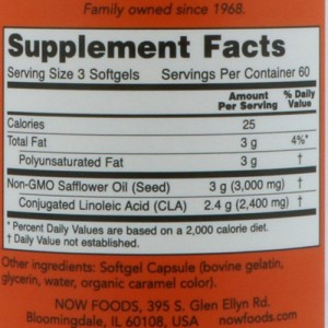 Now Foods CLA 800 mg