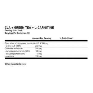 Ostrovit CLA + Green Tea + L-Carnitine