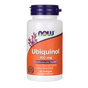 Now Foods Ubiquinol 100 mg 60 Sgels
