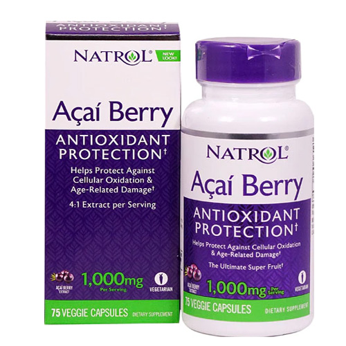 Natrol Acai Berry 1000 mg 75 Caps