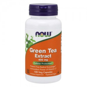 Now Foods Green Tea Extract 60% 400 mg