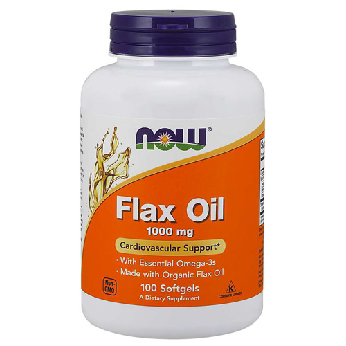 Now Foods Flax Oil Organic