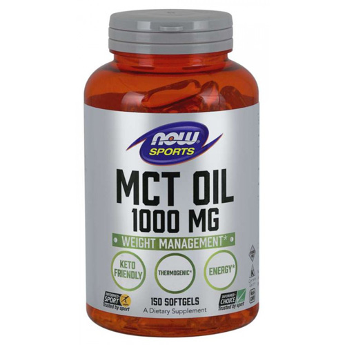 Now Foods MCT Oil 1000 mg 150 Softgels