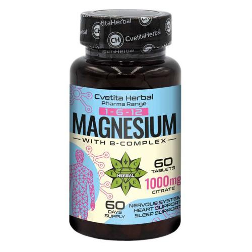 Cvetita Herbal Magnesium + B 1000 mg