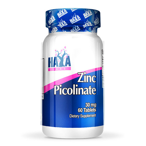 Haya Labs Zinc Picolinate 30 mg 60 Тabs