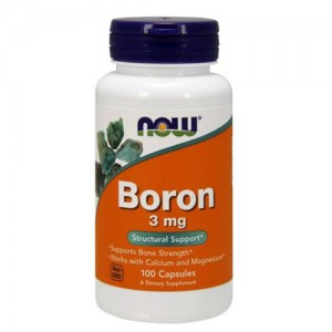 Now Foods Boron 3 mg
