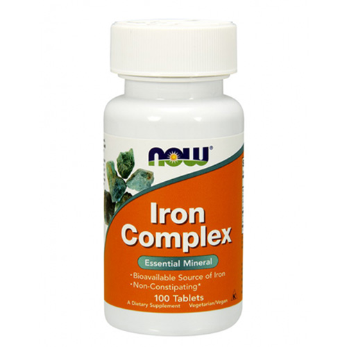 Now Foods Iron Complex 100 tab