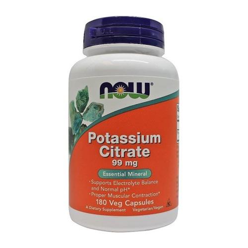 Now Foods Potassium Citrate (Калий) 180 caps