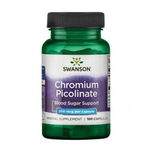 Swanson Chromium Picolinate 200 mcg 100 Caps цена