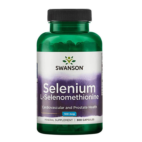 Swanson Selenium 300 табл. L-Selenomethionine 100 mcg