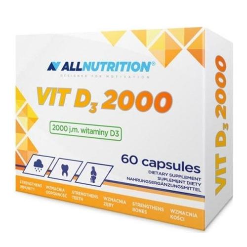 AllNutrition Vitamin D-3 2000 IU 60 Caps