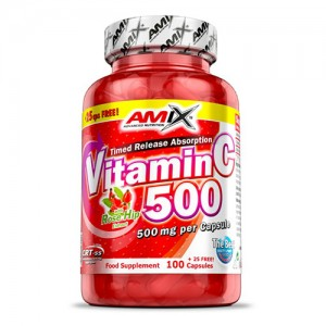 Amix Vitamin C-500 mg with Rose Hips