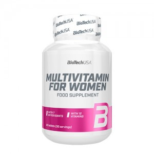 BioTech USA Multivitamin for women цена