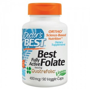 Doctor's Best Fully Active Folate with Quatrefolic