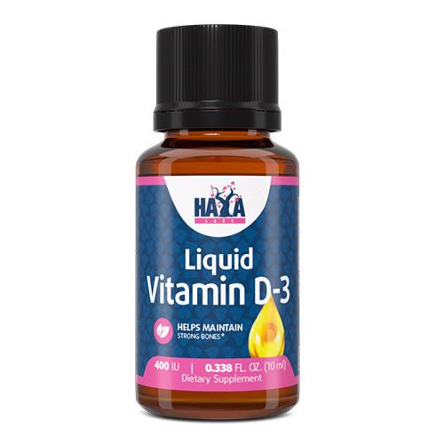 Haya Labs Liquid Vitamin D-3 400 IU 10ml