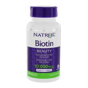 Natrol Biotin 10000 mcg цена
