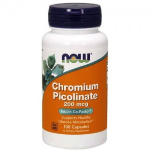 Now Foods Chromium Picolinate 200 mcg цена