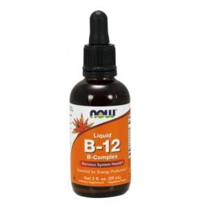 Now Foods Vitamin B-12 Complex Liquid