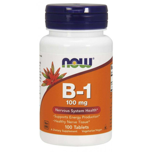 Now Foods Vitamin B-1 (Thiamine)