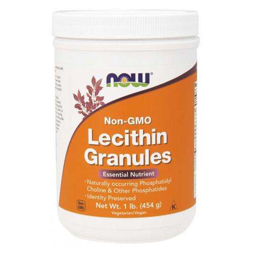 Now Foods Lecithin Granules NON GMO 454 g