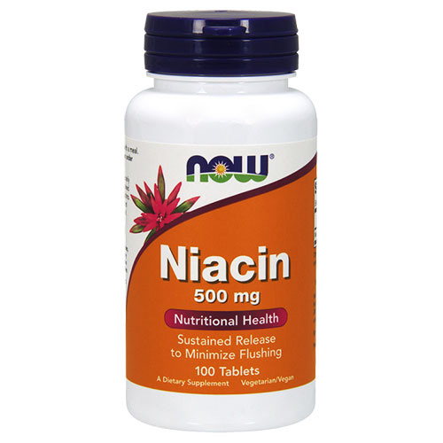 Now Foods Vitamin B-3 (Niacin)