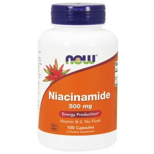 Now Foods Niacinamide 500 mg 100 Caps