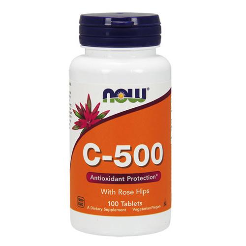 Now Foods Vitamin C-500