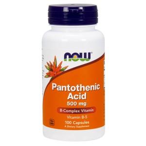Now Foods Vitamin B-5 (Pantothenic acid)