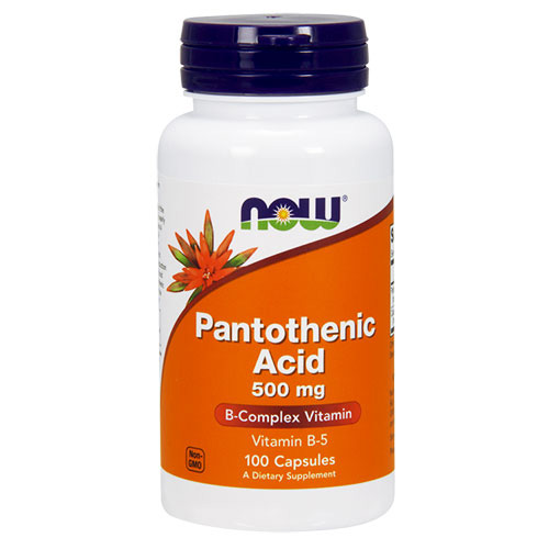 Now Foods Vitamin B-5 (Pantothenic acid)