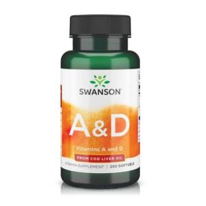 Swanson Vitamin A & D