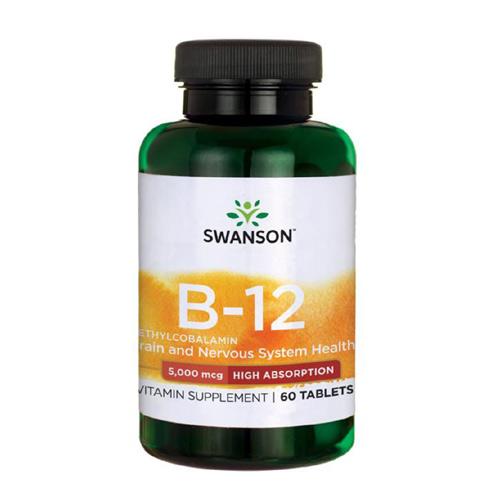 Swanson Vitamin B12 Methylcobalamin 5000 mcg