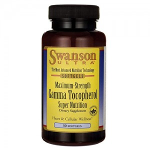 Swanson Ultra Maximum Strength Gamma Tocopherol 30 Sgels